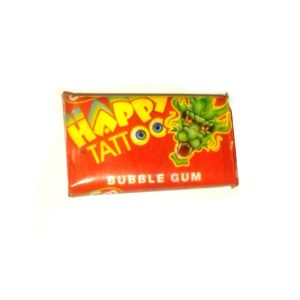 Happy Tattoo Bubblegum - Novelty Candy Sweets Party Bag Fillers
